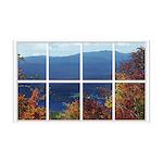 Mountain View Window 38.5 x 24.5 Wall Peel