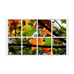 Fall Leaves Window 138.5 x 24.5 Wall Peel