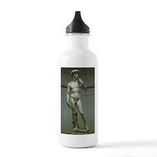 Statue of David by Michelangelo Water Bottle
