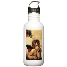 Angels by Raphael Water Bottle