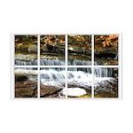 Small Waterfall Window 38.5 x 24.5 Wall Peel