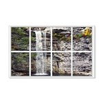 Waterfall Window 22x14 Wall Peel