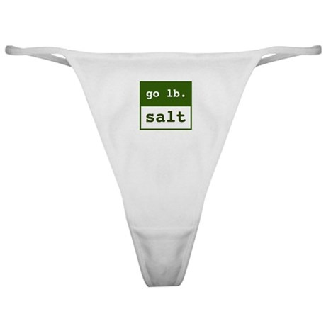 go lb salt - Classic Thong