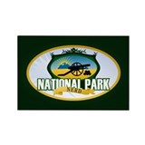 Natl Park Nerd (Ver 3) Rectangle Magnet (100 pack)