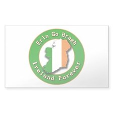 Erin go Bragh Rectangle Decal