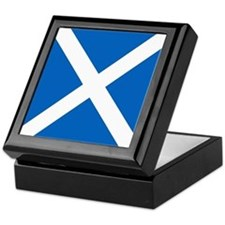 Flag of Scotland Keepsake Box