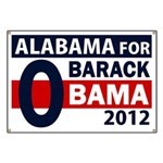 Alabama for Obama Banner