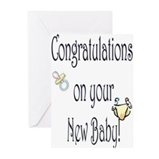 No Baby on Board Congrats Baby Cards(Pk of 10)