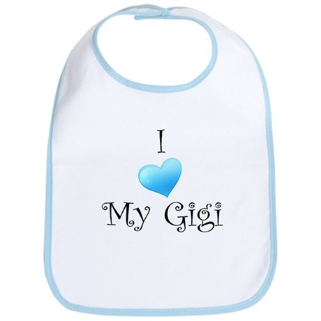 I Love Gigi Bib