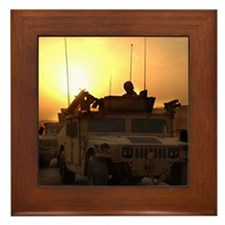 Dawn Patrol Bagdad Framed Tile