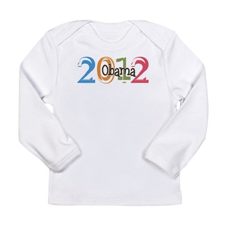 Obama 2012 Graphic Long Sleeve Infant T-Shirt