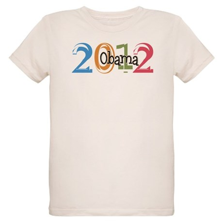 Obama 2012 Graphic Organic Kids T-Shirt