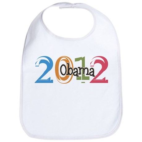 Obama 2012 Graphic Bib