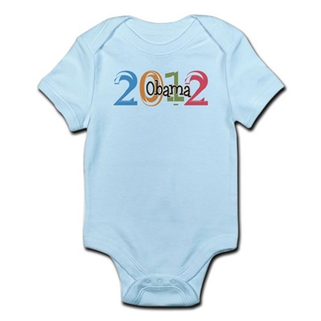 Obama 2012 Graphic Infant Bodysuit