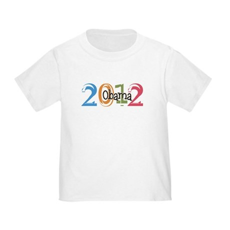 Obama 2012 Graphic Toddler T-Shirt
