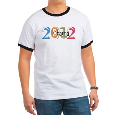 Obama 2012 Graphic Ringer T