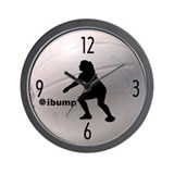 ibump Volleyball Wall Clock