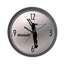 istuff Volleyball Wall Clock