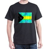 Eczema Islands Black T-Shirt