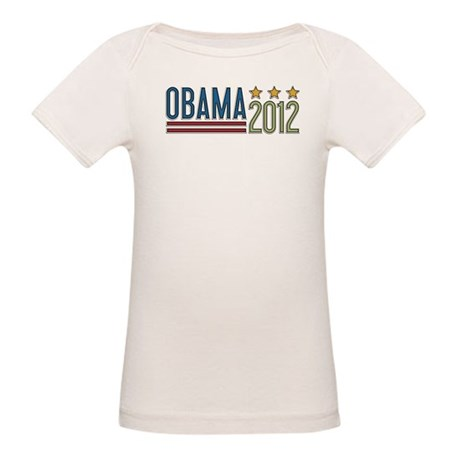 Obama 2012 Stars Organic Baby T-Shirt
