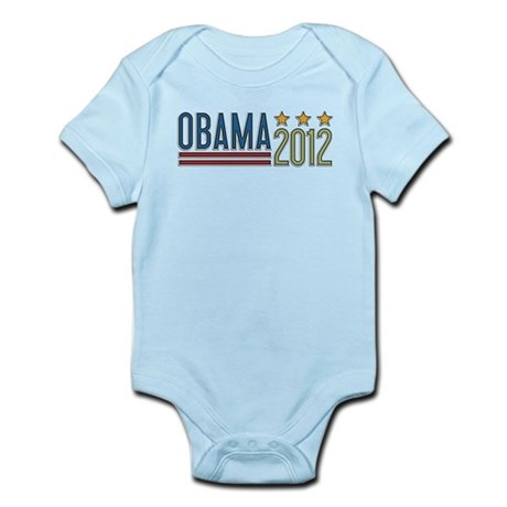 Obama 2012 Stars Infant Bodysuit
