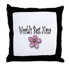 Best Nana Throw Pillow