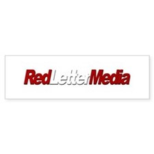 Red Letter Media Bumper Bumper Sticker