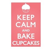 Keep Calm Cupcakes Postcards (Package of 8)