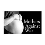 Mothers Against War 38.5 x 24.5 Wall Peel
