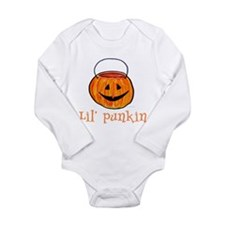 Lil' Punkin Long Sleeve Infant Bodysuit