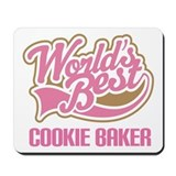 Cookie Baker Mousepad