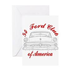 Funny Ford cars Greeting Card