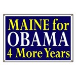 Maine for Obama Banner