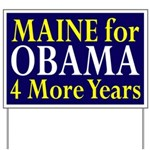 Maine for Obama Yard Sign