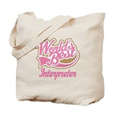 Interpreter Tote Bag