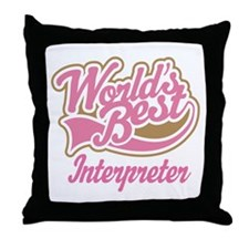 Interpreter Throw Pillow