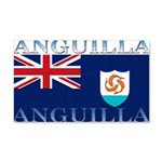 Anguilla Flag 22x14 Wall Peel