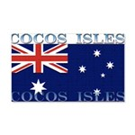 Cocos Islands 22x14 Wall Peel