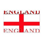 England English St George Fla 22x14 Wall Peel