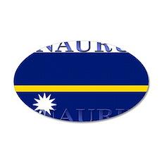 Nauru 22x14 Oval Wall Peel