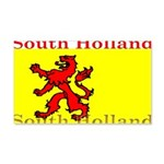 South Holland Flag 22x14 Wall Peel
