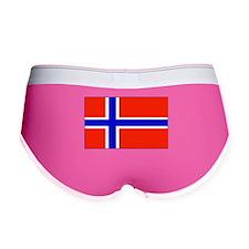 Norway Norwegian Blank Flag Women's Boy Brief