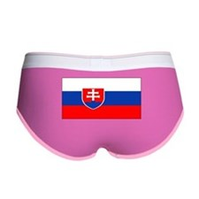 Slovakia Blank Flag Women's Boy Brief