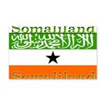 Somaliland Somali Flag 22x14 Wall Peel