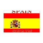 Spain Spanish Flag 22x14 Wall Peel