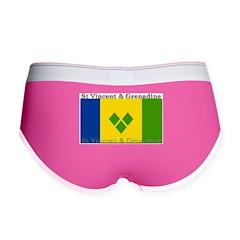 St Vincent & Grenadine Women's Boy Brief