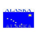Alaska State Flag 22x14 Wall Peel