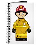 Cute Little Firefighter Journal