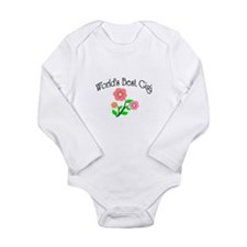 Happy Gigi Long Sleeve Infant Bodysuit