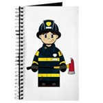 Firefighter with Axe Journal
